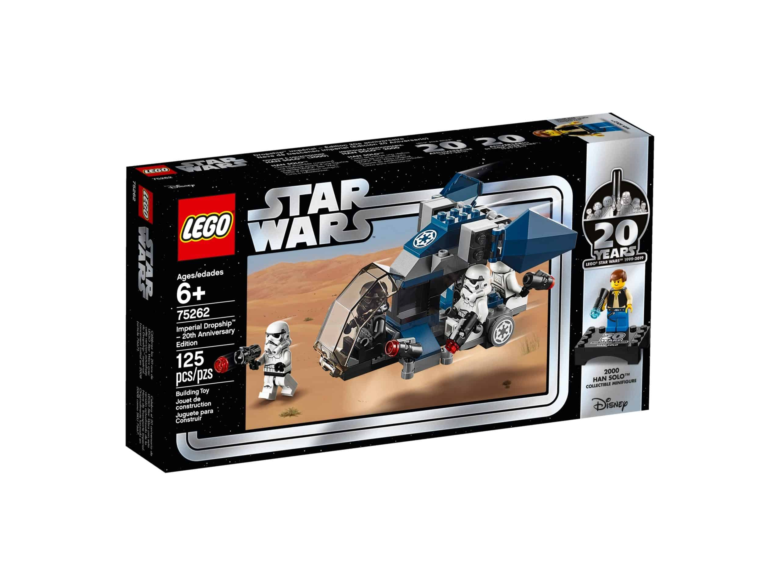 imperial dropship 20 jahre lego 75262 star wars scaled