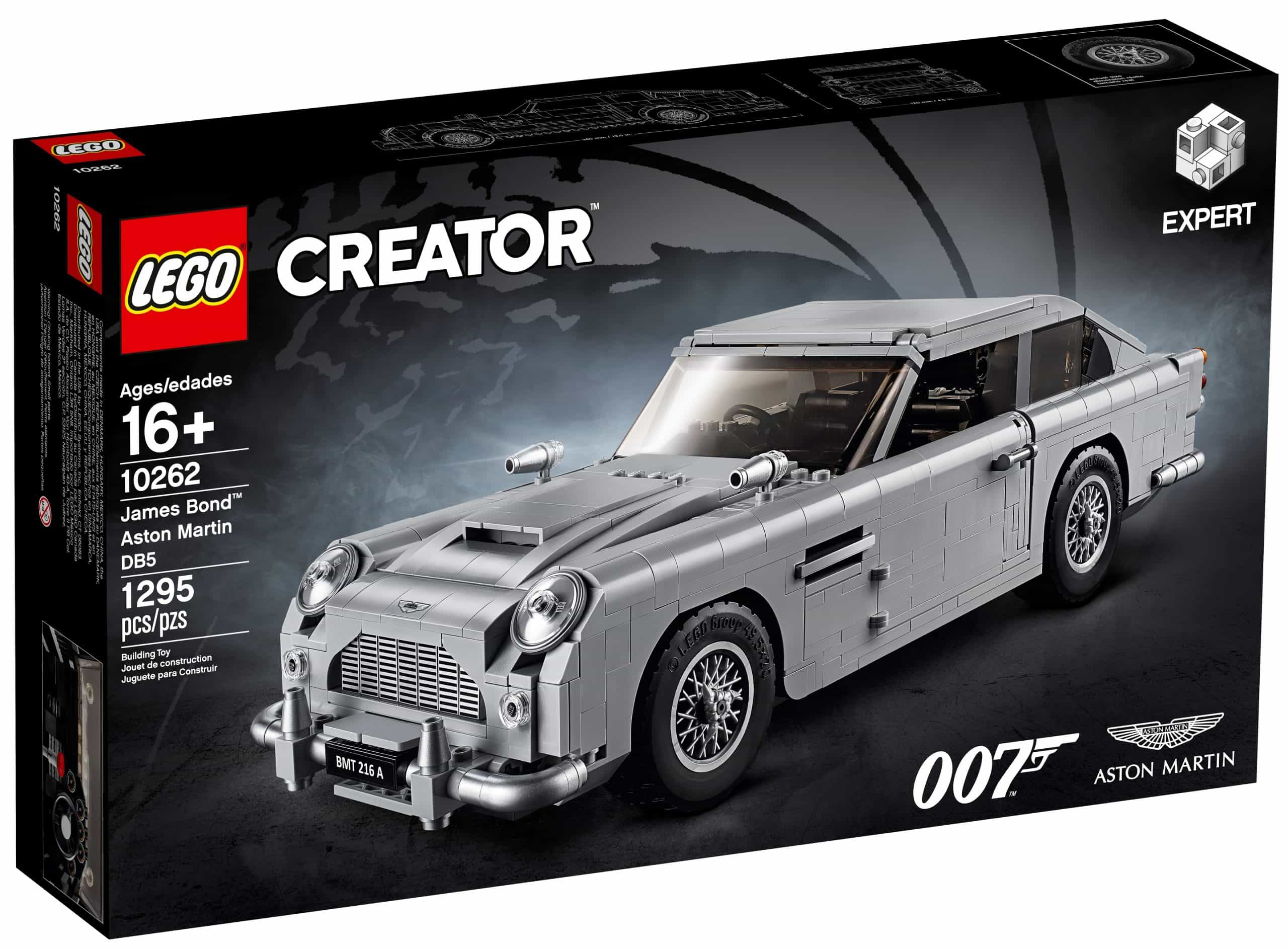 Lego 10262 Angebote James Bond Aston Martin Db5 121 27 Niedrigster Preis 19 Rabatt