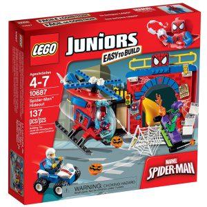 lego 10687 spider man versteck