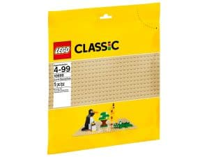 lego 10699 sandfarbene grundplatte