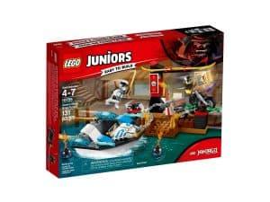 lego 10755 zanes verfolgungsjagd mit dem ninjaboot