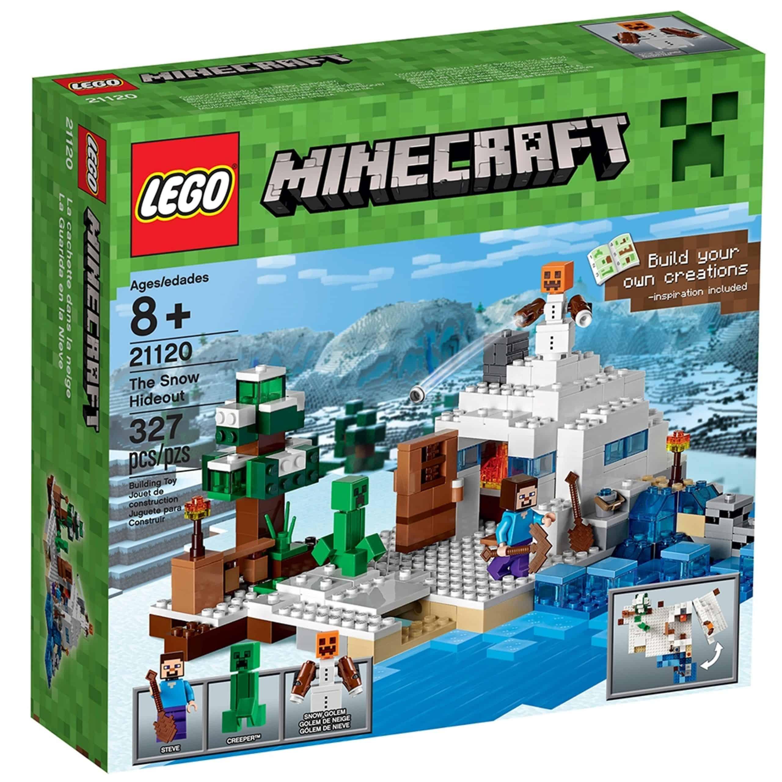 lego 21120 das versteck im schnee scaled