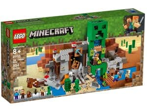 lego 21155 die creeper mine