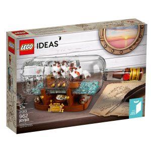 lego 21313 schiff in der flasche