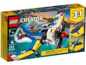 lego 31094 rennflugzeug
