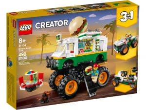 lego 31104 burger monster truck