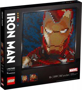lego 31199 marvel studios iron man kunstbild