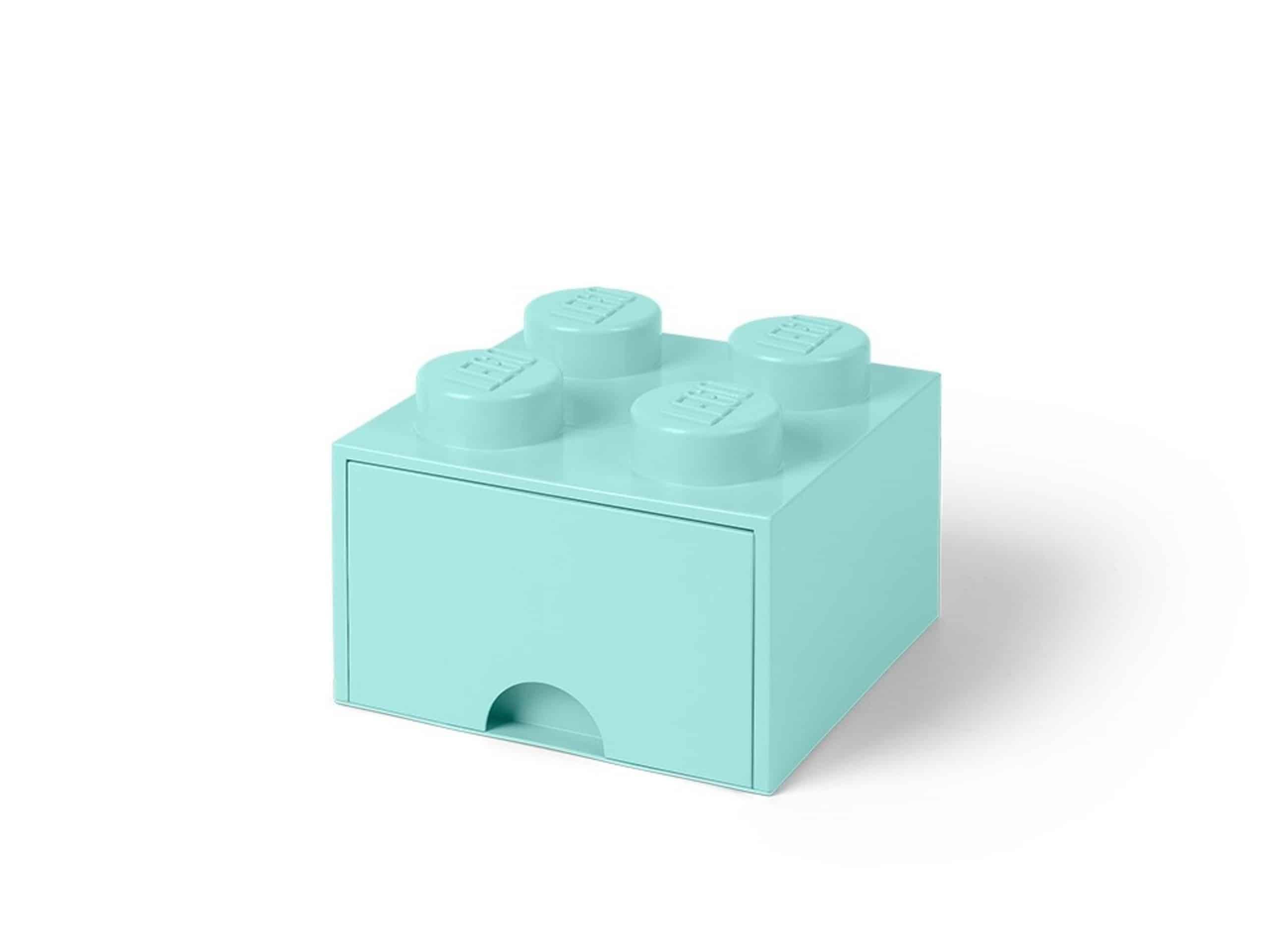 lego 5005714 aufbewahrungsstein mit 4 noppen und schubfach in wasserblau scaled
