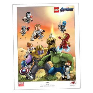 lego 5005881 avengers endgame poster motiv 2 von 3