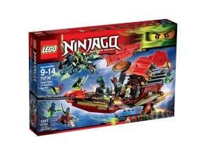lego 70738 der letzte flug des ninja flugseglers