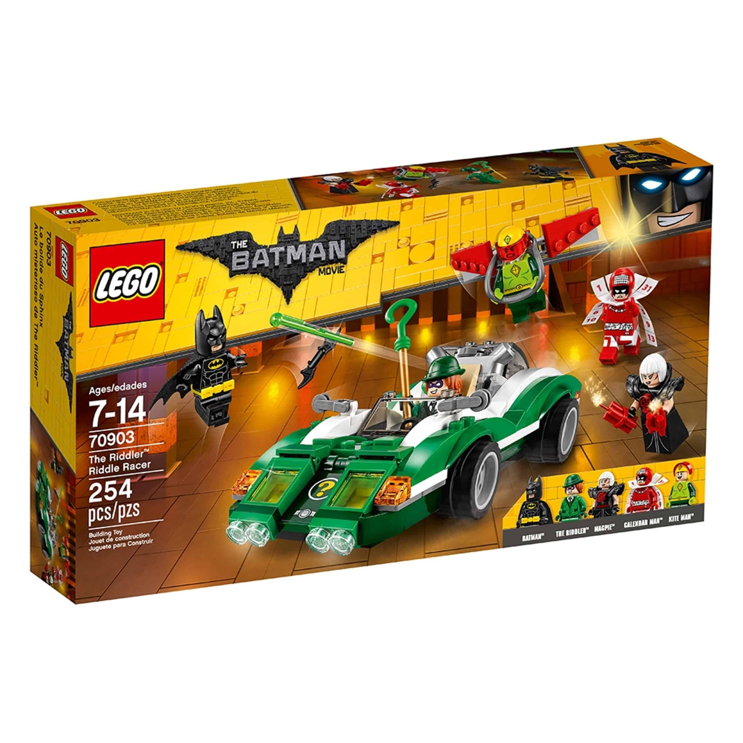 lego 70903 the riddler riddle racer scaled