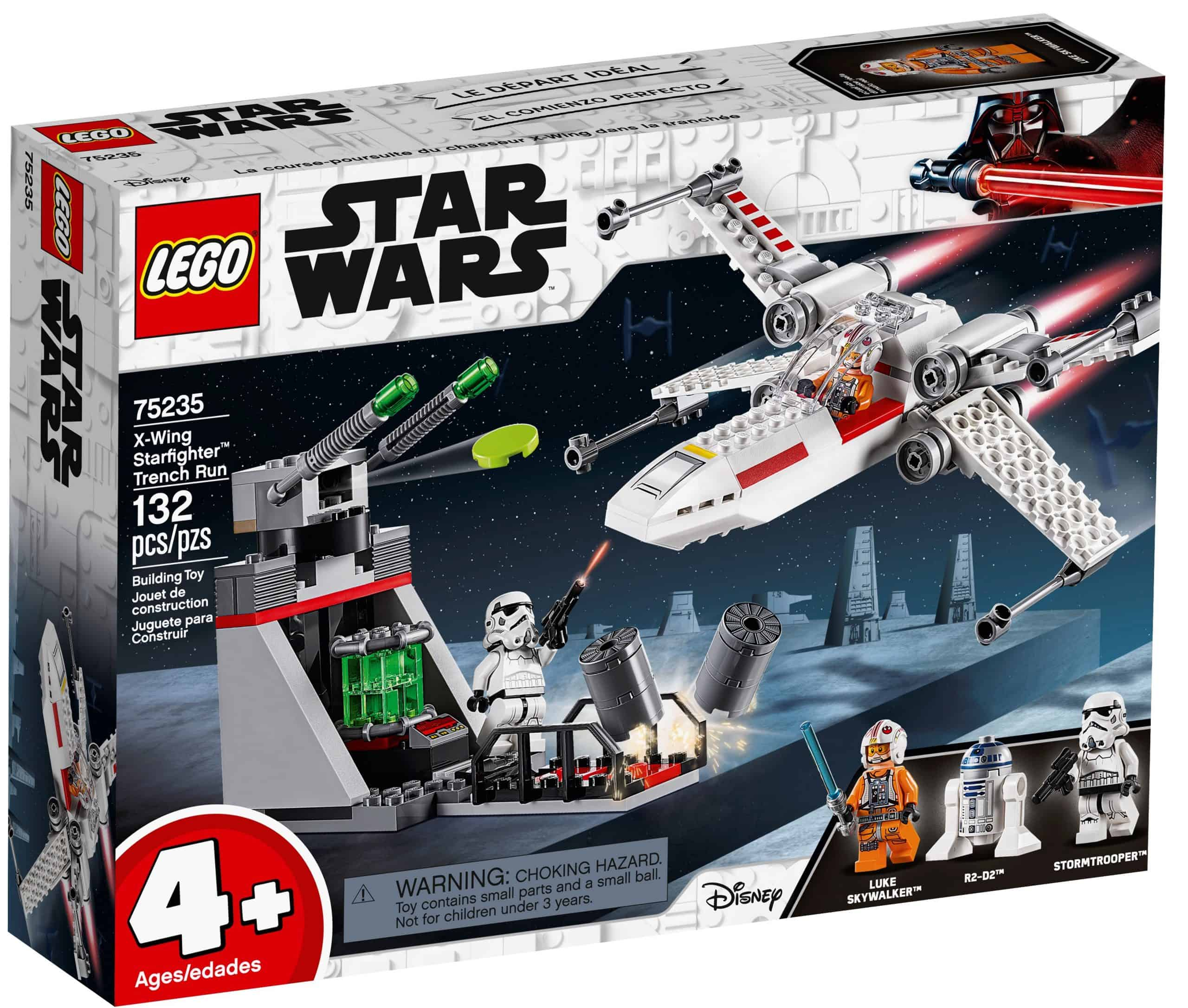 lego 75235 x wing starfighter trench run scaled