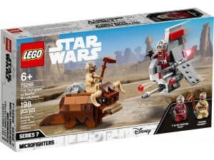 lego 75265 t 16 skyhopper vs bantha microfighters
