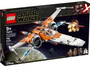 lego 75273 poe damerons x wing starfighter