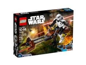 lego 75532 scout trooper speeder bike