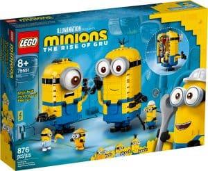 lego 75551 minions figuren bauset mit versteck