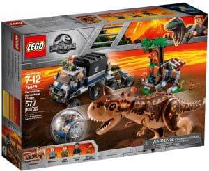 lego 75929 carnotaurus flucht in der gyrosphere