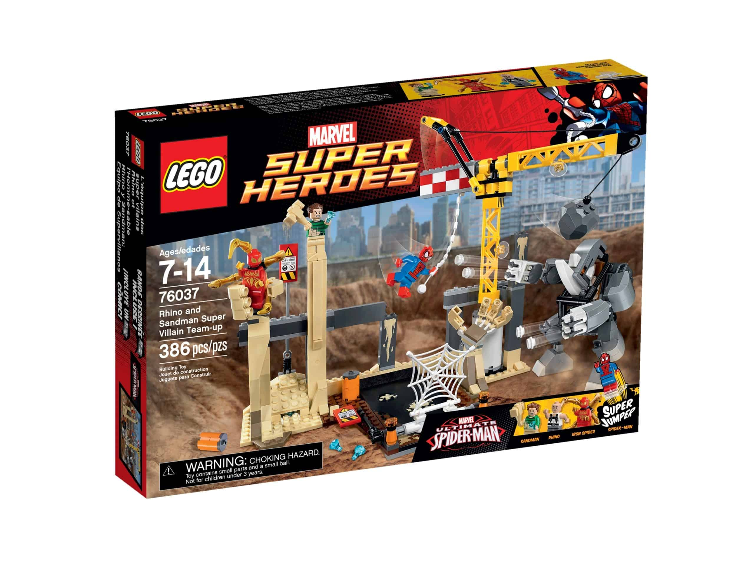 lego 76037 rhino und sandman allianz der superschurken scaled