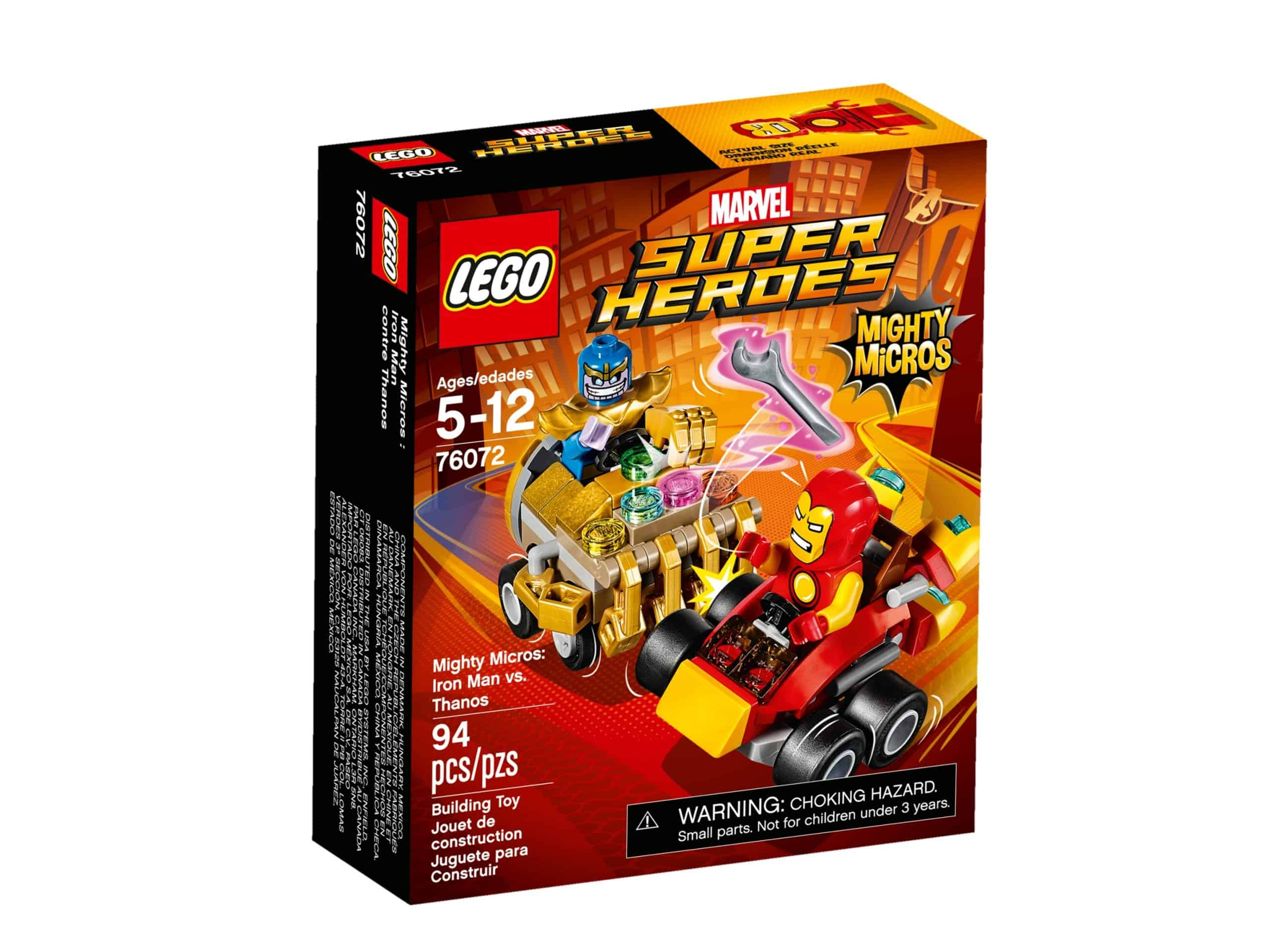 lego 76072 mighty micros iron man vs thanos scaled
