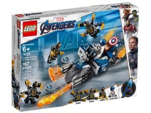 lego 76123 captain america outrider attacke
