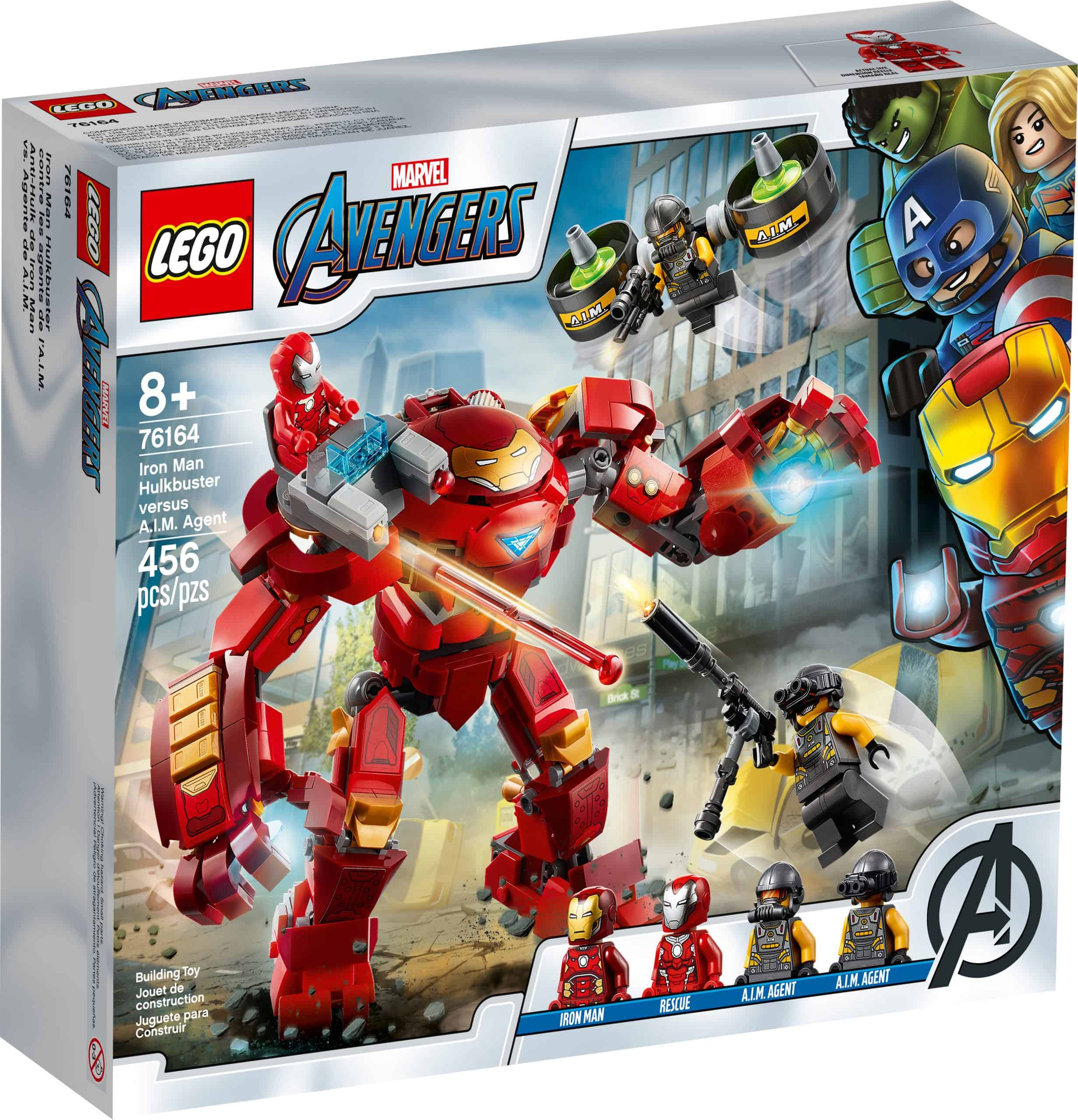lego 76164 iron man hulkbuster vs a i m agent scaled