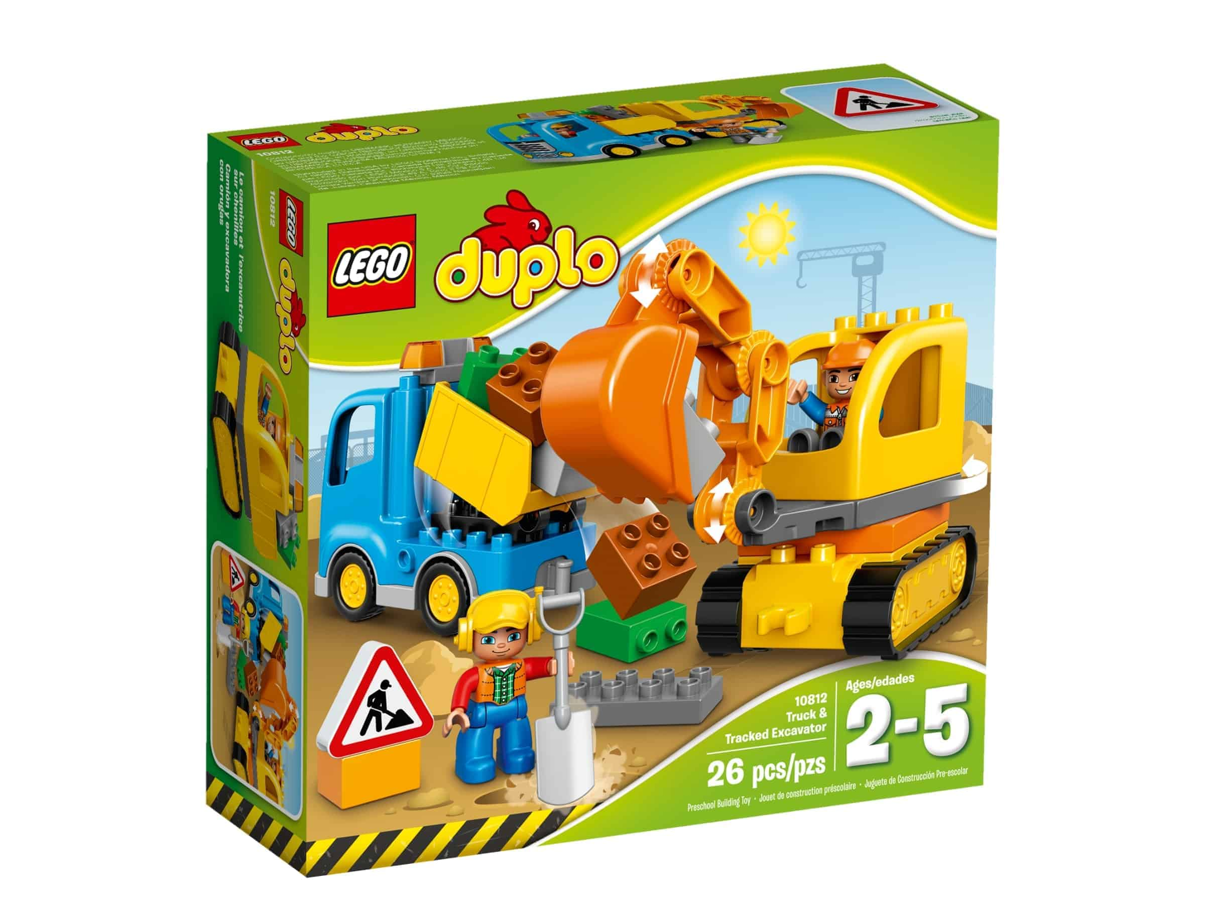 lego 10812 bagger lastwagen