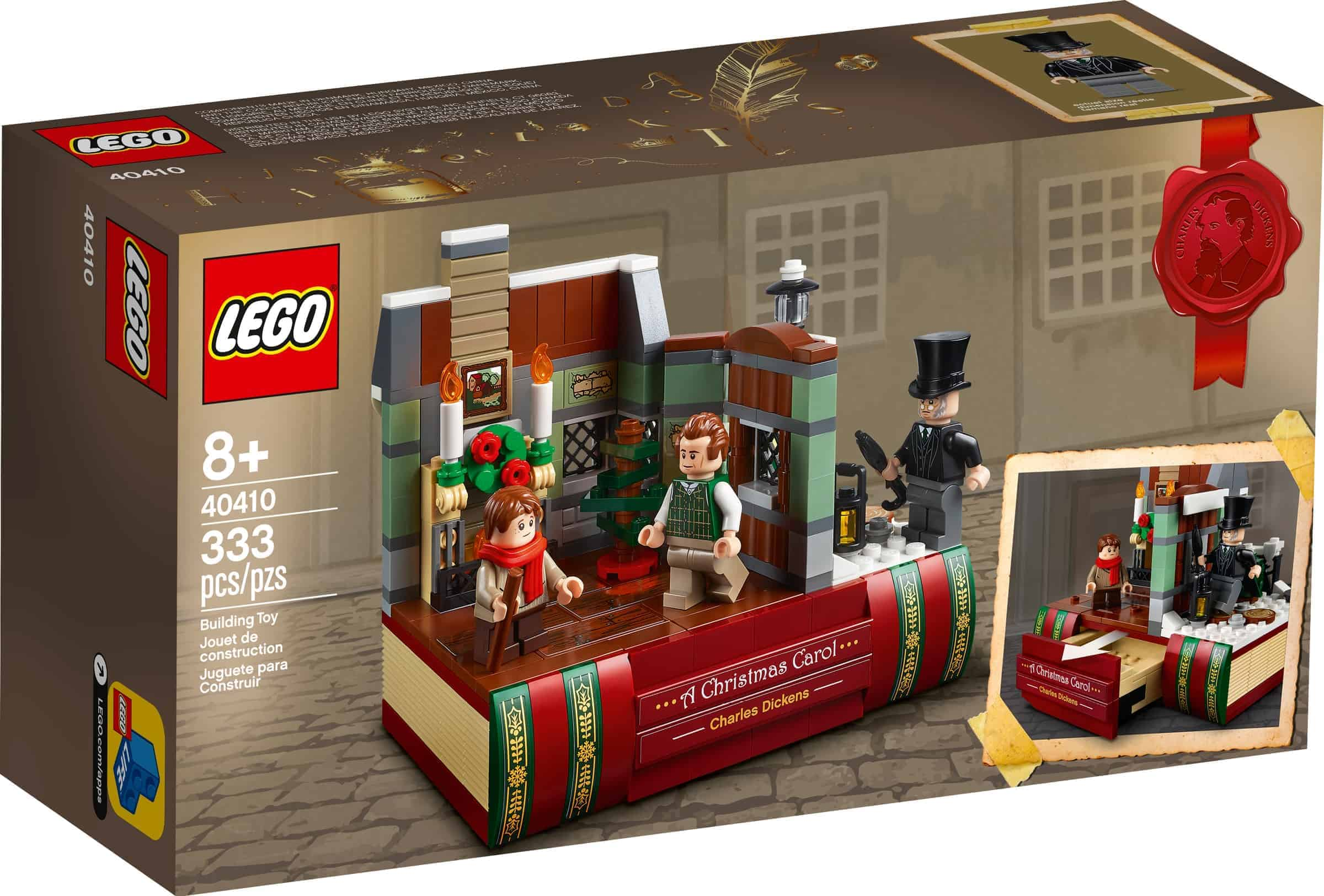 lego 40410 hommage an charles dickens