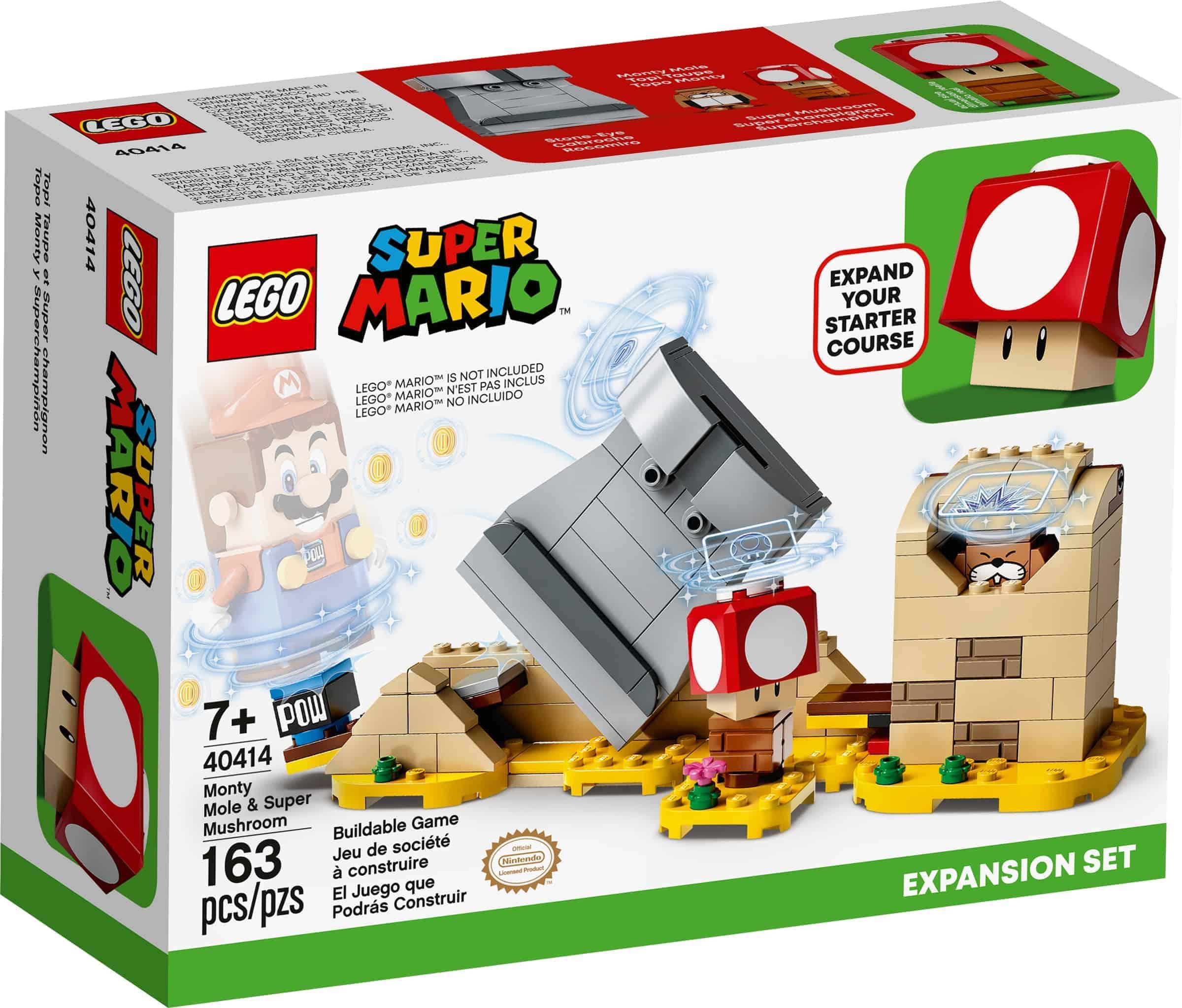 lego 40414 monty maulwurf und superpilz erweiterungsset