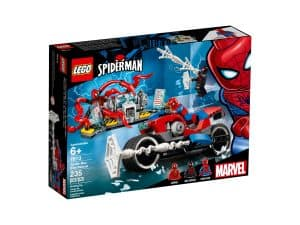 lego 76113 spider man motorradrettung