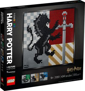 lego 31201 harry potter hogwarts wappen