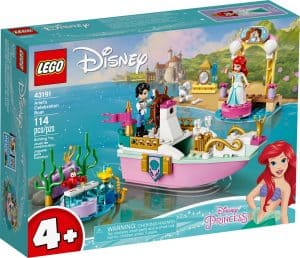 lego 43191 arielles festtagsboot