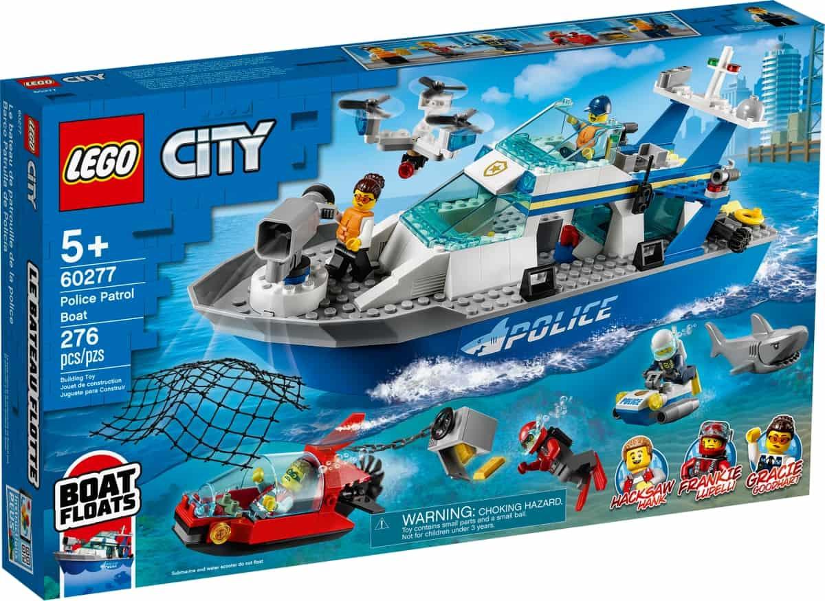 lego 60277 polizeiboot