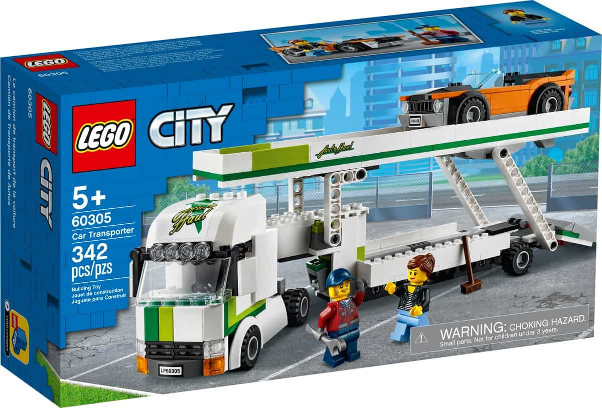 lego 60305 autotransporter