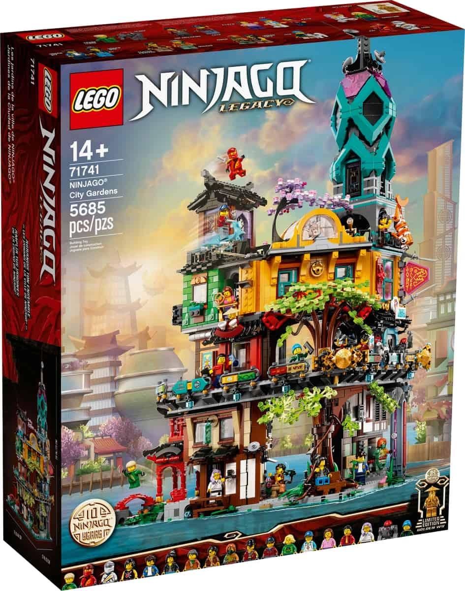 lego 71741 die garten von ninjago city