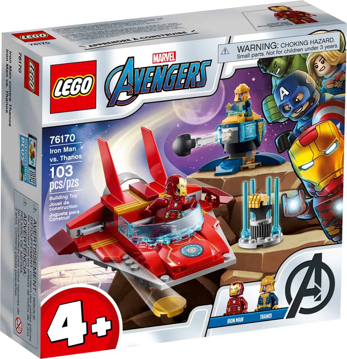 lego 76170 iron man vs thanos