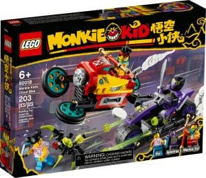 lego 80018 monkie kids wolken bike