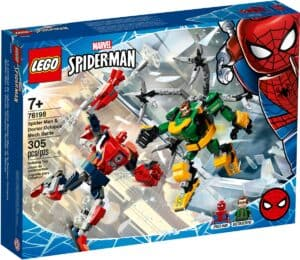 lego 76198 mech duell zwischen spider man doctor octopus