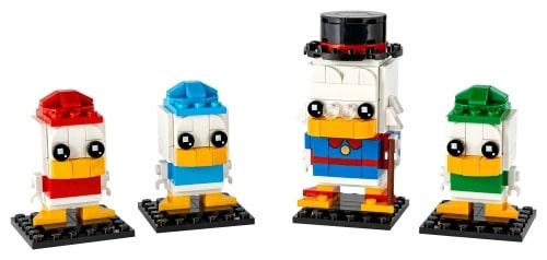LEGO 40477 Dagobert Duck, Tick, Trick & Track - 20210503