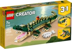 lego 31121 krokodil