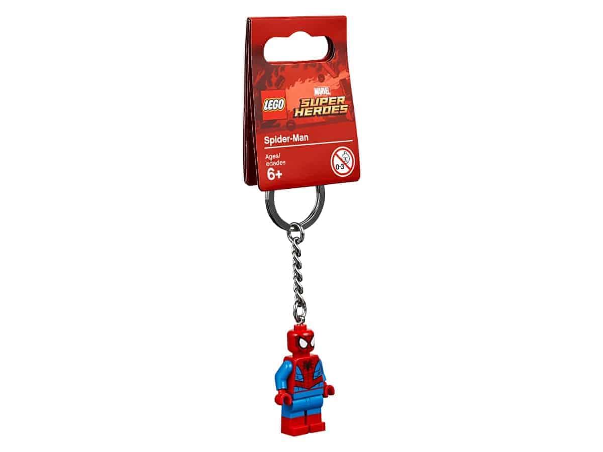 lego 853950 spider man schlusselanhanger